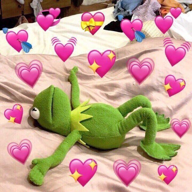 Kermit in love