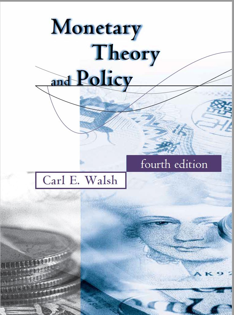 home page for monetary theory and policy 4th ed mit press 2017 rh people ucsc edu Monetary Policy vs Fiscal Policy Monetary Policy vs Fiscal Policy